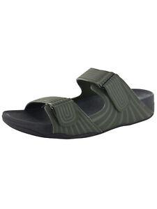 Fitflop-Mens-Gogh-Sport-Slide-Adjustable-Sandal-Shoes-Everglades-US-11