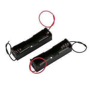 Black-ABS-3-7V-Durable-DIY-Battery-Holder-Power-Supply-Spring-Clip-Storage-Box