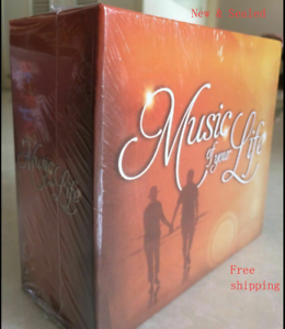 Music-of-Your-Life-10-CD-New-Box-Set-Time-Life-150-Hits-Sealed-Free-Shipping