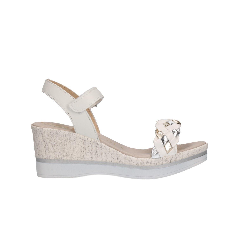 MELLUSO Sandali zeppa bianco scarpe 037069 donna Walk mod. 037069 scarpe e71315