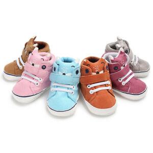 0640bd38a Details about Sweet Cute Baby Girls Boys Fox High Cut Shoes Sneaker Anti-slip  Soft Sole Trendy