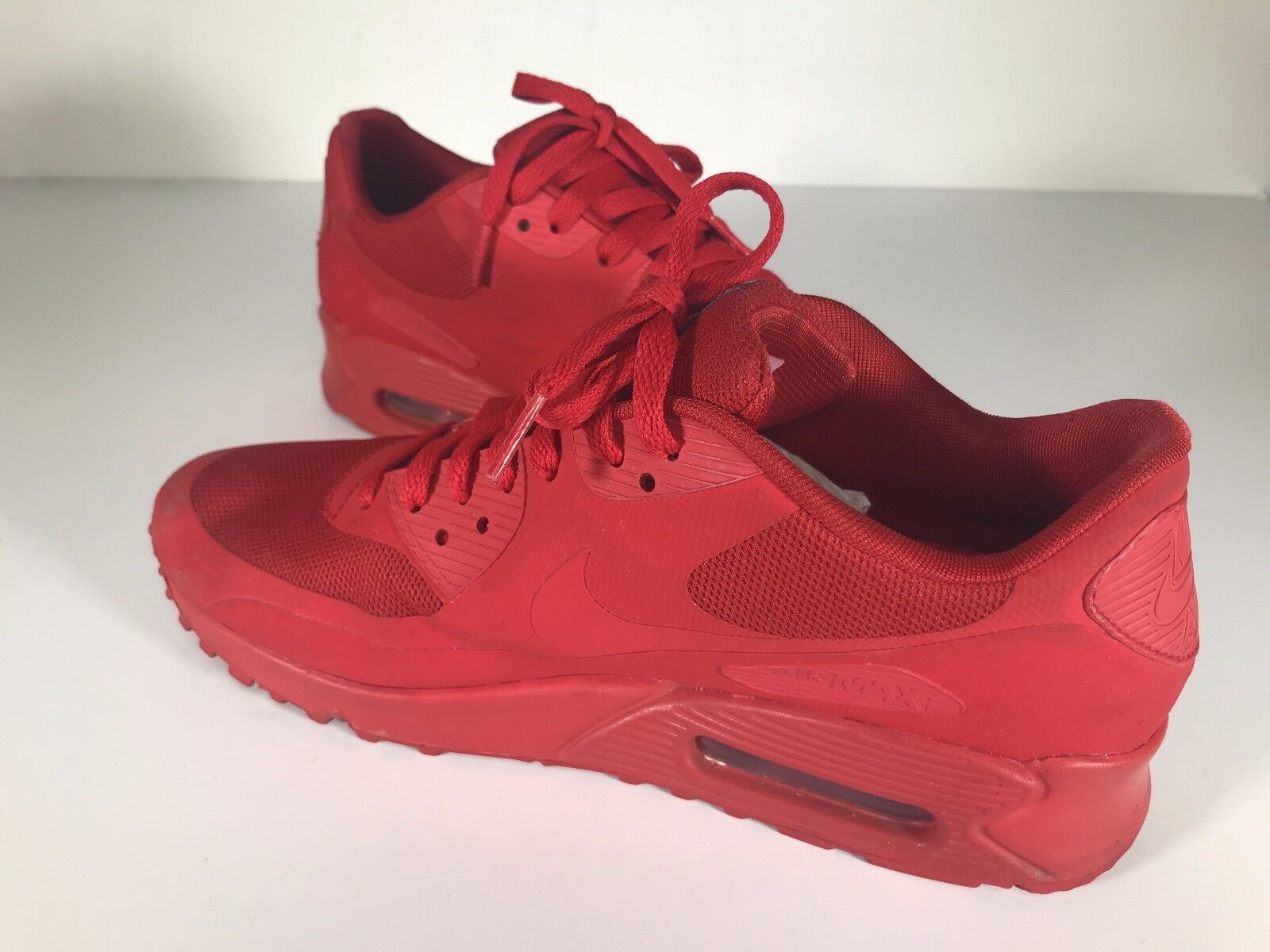 big sale adb01 bddaa ... Pre-Owned Nike Air Max 90 Red Independence Day Day Day Sneakers Size 8  0891d5