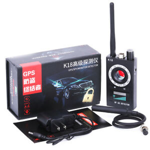 Details about K18 Bug Anti-spy Detector Camera RF Signal GSM Audio Bug  Finder GPS Scan