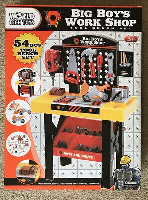 Pieces Toy Tools Workbench Workshop Playset Karacter Box Professional Repairman 64