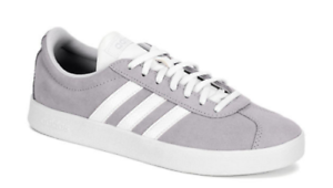 New-ADIDAS-VL-Court-2-0-WOMENS-SUEDE-SHOES-SNEAKERS-pale-blue-size-9