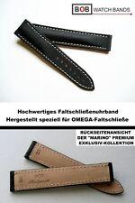 - BOB Handmade Faltschließenband Kompatibel nur mit Omega - Faltschließe 20/18mm