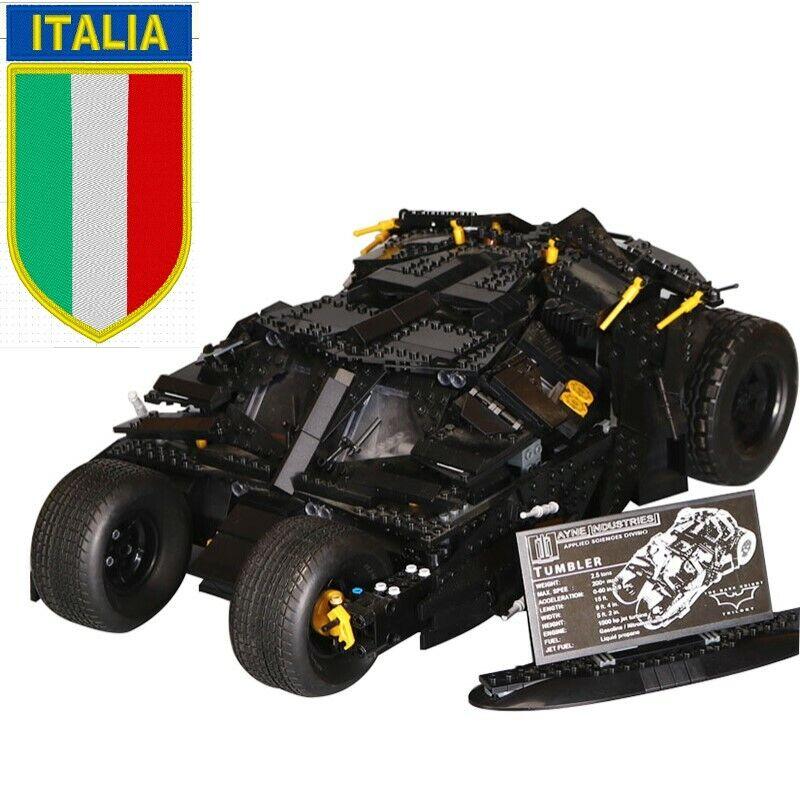 TUMBLER  BATuomo Batmobile - 76023 compatibile lego 100% 1969 pezzi nuovo - Italia  economico online