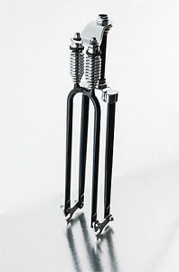 Monark  Bicycle Fork w//Disc Brake Adapter Black w//Black Parts w//1 1//8 Reducer