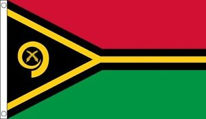 Vanuatu-Flag-5-x-3-FT-100-Polyester-With-Eyelets-Commonwealth-Games