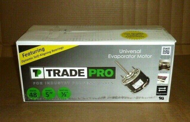 4 Speed 230 Volt 1075 RPM Evaporator Motor TradePro TP-E75-MHP2 3//4-1//5