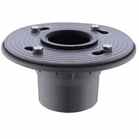 2 Pvc Shower Drain Base With Rubber Gasket Floor Drain Flanges Coupling