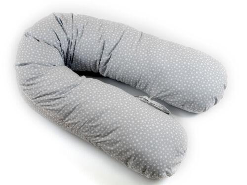XXL 170cm Stillkissen 100/% Baumwolle Schwangerschafts Lagerungskissen