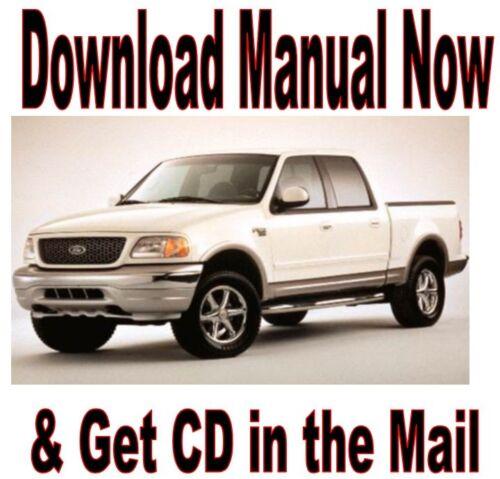2002 2003 Ford F150 Service Repair Shop Mechanic Manual F-150 CD ...
