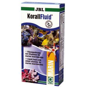 3 pièces de fluide de corail Jbl, X pack économique de 500 ml, aliment liquide pour coraux