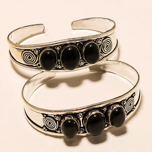 AMAZING-LOT-925-STERLING-SILVER-PLATED-BRACELET-CUFF-JEWELLERY