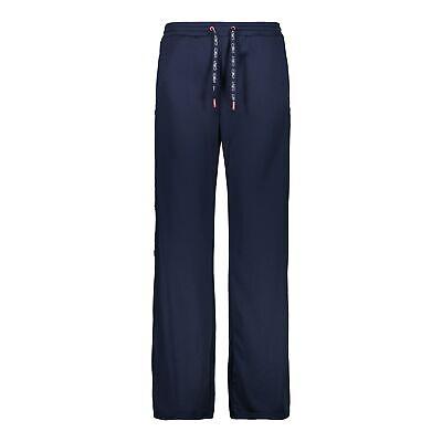 Cmp Fleecehose Woman Long Pant Blu Scuro Traspirante Triete Tinta-mostra Il Titolo Originale Sconto Online