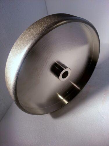 """180 Grit for Tool Sharpening 5//8/"""" arbor CBN Wheel Radius Edge 8/"""" diameter"""
