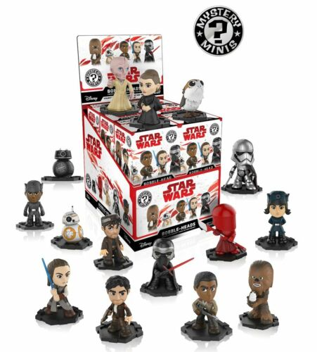 Star Wars The Last Jedi épisode 8 Mystery Minis Funko Vinyl Figures Blind Boxed