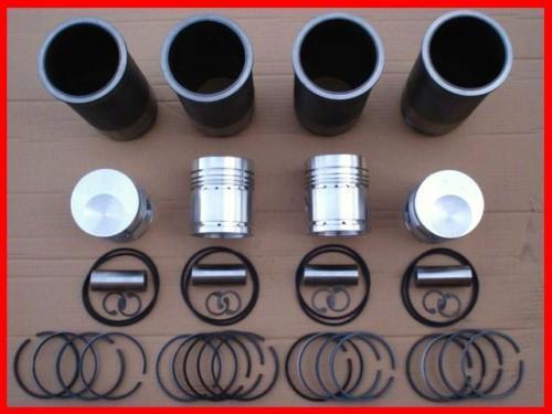 Kolben Laufbuchse Ringe 4 x Zylindersatz MTS 50 52 Belarus MOTOR TRIEBWERK