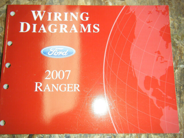2007 Ford Ranger Truck Original Factory Wiring Diagrams