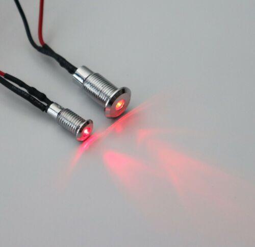 LED con versión plana un micrófono 3mm//5mm 5v//12v//24v con 20cm cable