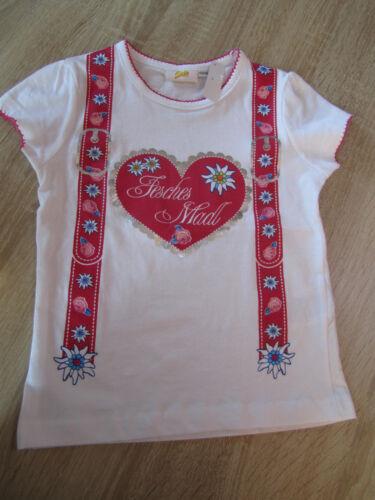 """Mädchen Shirt /""""Fesches Madl/"""" pink 50-92 *Oktoberfest Dirndl Lederhose Trachten*"""