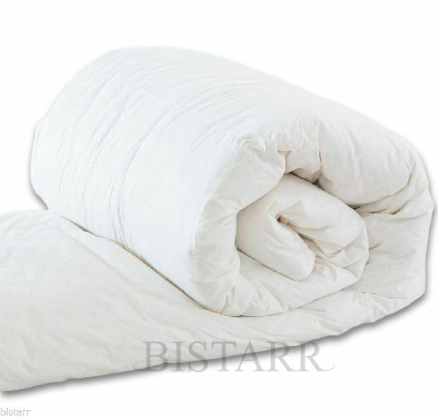 NEW HOLLOWFIBRE DUVET 4.5 //10.5 //13.5 //15 TOG QUILT ALL SIZES SUMMER AND WINTER