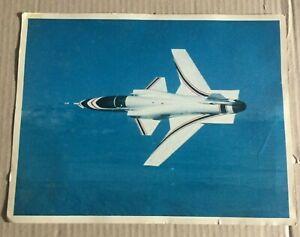 GRUMMAN X-29 ADVANCED TECHNOLOGY DEMONSTRATOR WITH SPECS ON BACK  8X10