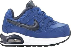 NIKE-AIR-MAX-COMMAND-FLEX-LTR-TD-scarpe-bambino-blu-sportive-sneakers-shoes-kids