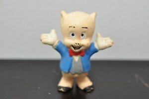 Vintage-1988-Looney-Tunes-Applause-Porky-Pig-Collector-039-s-PVC-Figure