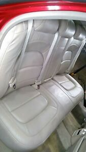Details About 00 05 Cadillac Deville Heated Leather Rear Seat Shale 152 Oem Used