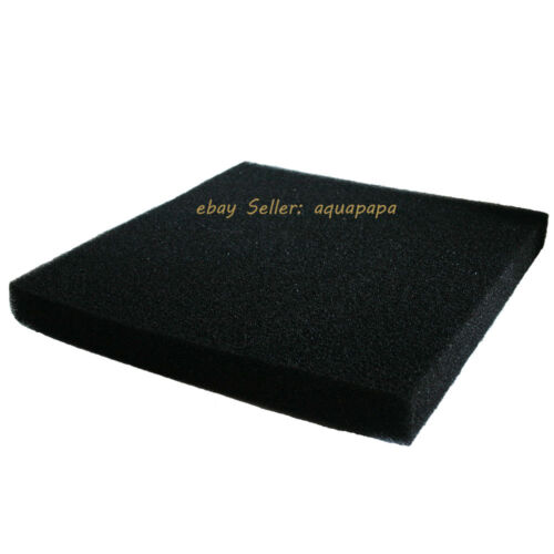 Bio Sponge Filter Media Pad Cut-to-fit Foam Square 17.7 for Aquarium Fish Tank