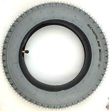 Schwalbe Rollstuhl Reifen Set 12-1/2x2-1/4 (62-203) mit Schlauch AV 90° grau