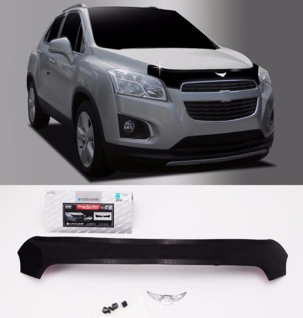 Acrylic Emblem Hood Guard Protector Cover 1pcs For Gm Chevrolet Trax