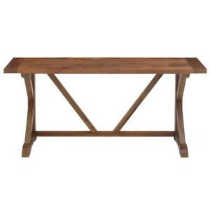 Admirable Details About Cane Bark Console Table Home Hallway Entryway Living Room Furniture Brown Wood Spiritservingveterans Wood Chair Design Ideas Spiritservingveteransorg