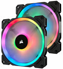 Corsair LED Ll140 140mm Dual Light Loop RGB PWM Fan - Pack of 2