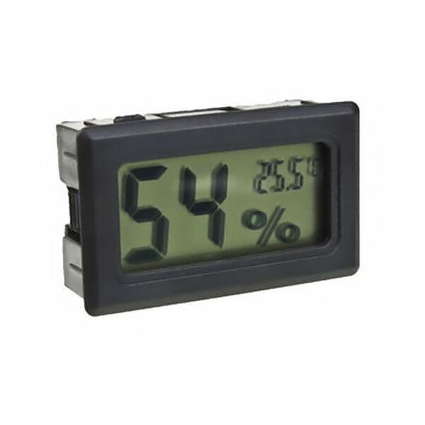 Digital Meter Lcd Temperature Humidity Thermometer Hygrometer Vivarium Reptile