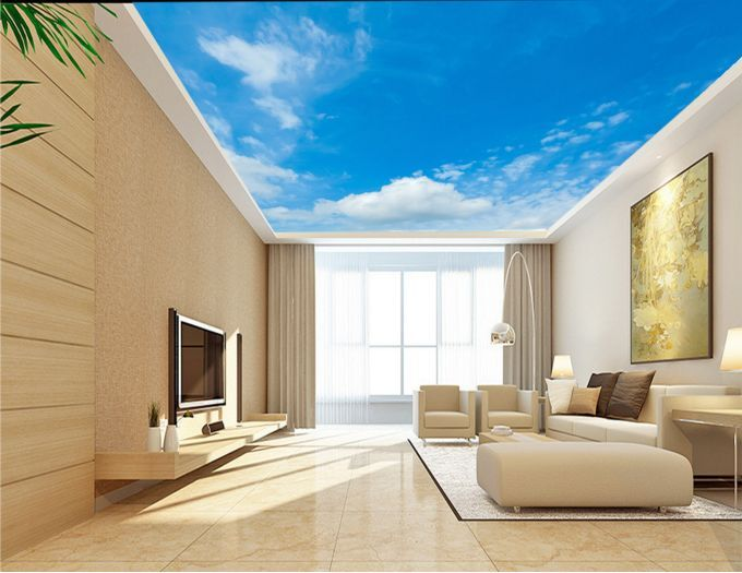 3D Pretty Cloud Ceiling WallPaper Murals Wall Print Decal Deco AJ WALLPAPER GB