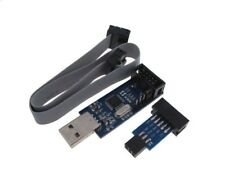 Usb Avr Programmer With 6 Pin 10 Pin Idc Isp Connector For Usbasp