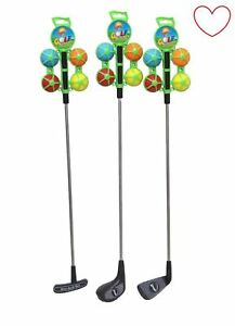24-034-Kids-Golf-Club-Set-4-Balls-Golf-Set-Childrens-Junior