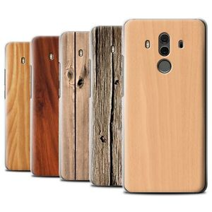 brand new 743ce b9f11 Details about STUFF4 Phone Case/Back Cover for Huawei Mate 10 Pro /Wood  Grain Effect/Pattern