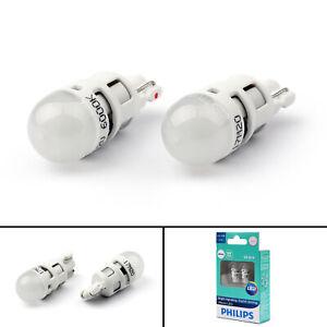 PHILIPS-LED-Bulb-T10-12V-0-5W-6000K-W2-1-9-5D-12791-White-Interior-Plate-Light-T