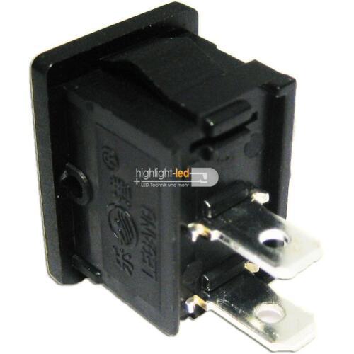 10x Mini-Wippenschalter 1-polig für Modellbau /& LEDs