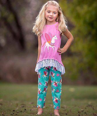 Girls ANN LOREN boutique outfit 12-18-24 2T 3T 4 5 6 7 8 NWT lace ruffle dress