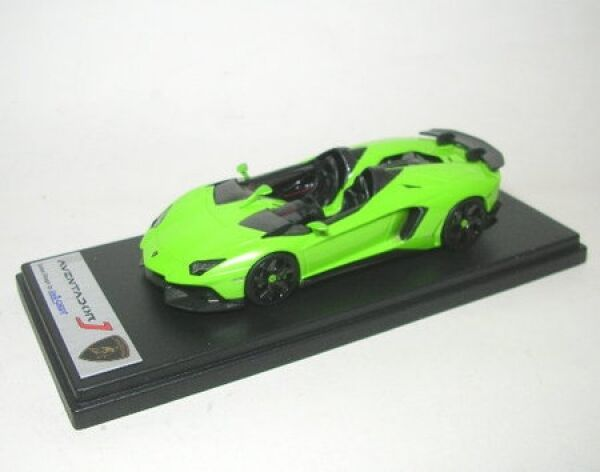 Lamborghini Aventador green Ithaca J Geneva Motor Show 2012