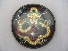 Un superbo design dell'era Maji Dragon Dish-inizio 1900s?