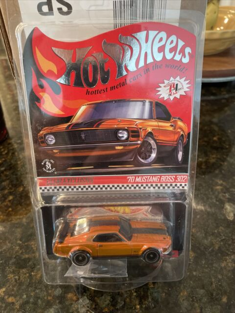 New 2021 Hot Wheels Redline 1970 Mustang Boss 302 With RLC Patches