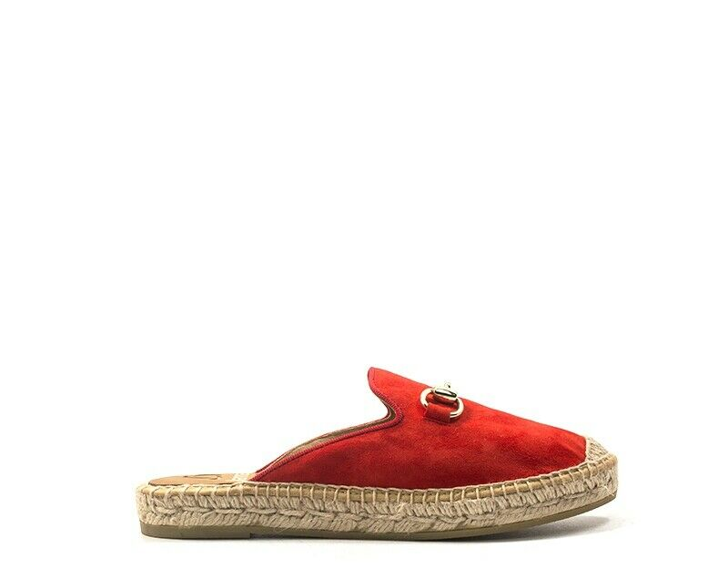 Kanna shoes woman suede 7009-ro red