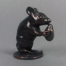 Bronzo romano del mouse in miniatura