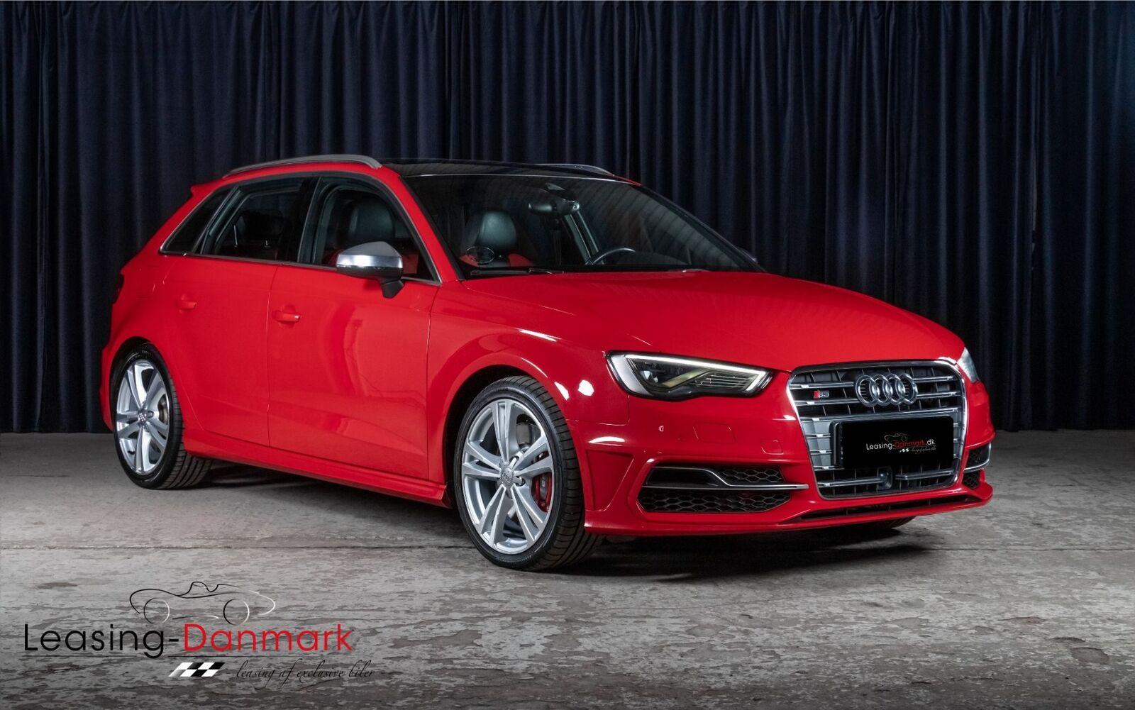 Audi S3 2,0 TFSi Sportback quattro S-tr. 5d - 359.900 kr.